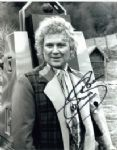 Colin Baker as the Doctor Signed 10 x 8 Photograph #p26